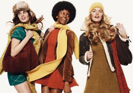 Огляд жіночої колекції United Colors Of Benetton зима 2012