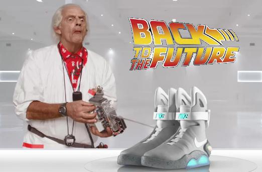 "Кросівки Марті МакФлая з фільму ""Назад у майбутнє"". Зустрічайте Nike Air Mag 2011"