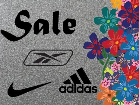 Май 2012! Скидки от Reebok, Adidas, Nike и Puma