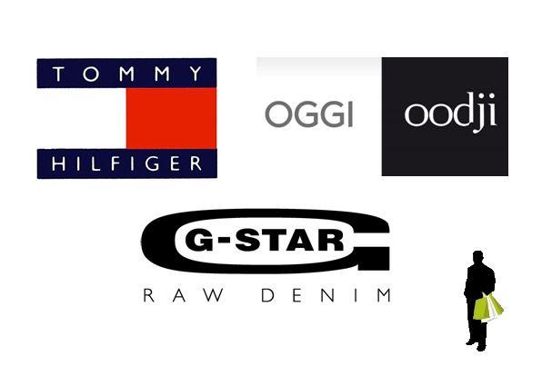 Брендовая одежда от Tommy Hilfiger, G-Star, Oggi