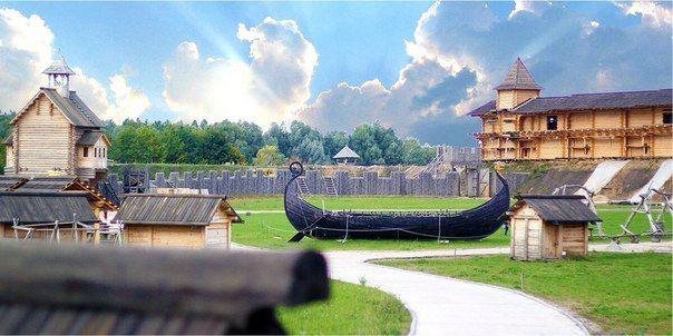 Самые красивые места Древнего Киева в парке Киевская Русь