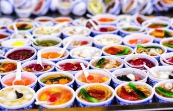 ХIII фестиваль «Уличной еды» в Киеве
