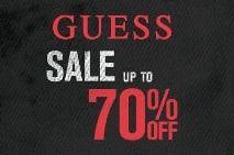 Август 2012! Скидки от Guess до 70%