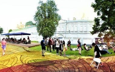 """В галерее """"Лавра"""" проходит фестиваль и интерактивная реконструкция"""