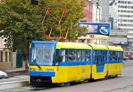 В киевских трамваях появился бесплатный Интернет