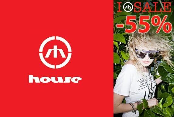 Распродажа HOUSE. Скидки до 55% на коллекцию весна-лето 2011.