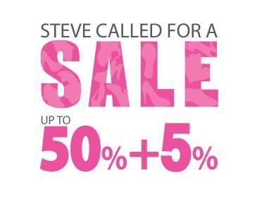 Финальная сезонная распродажа одежды и обуви Steve Madden. Скидки 50%.