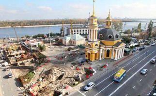 На подольских Валах Киева построят развязку