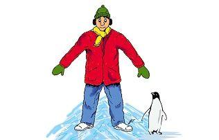 Киевляне против льда. Как правильно ходить и как правильно падать на льду?