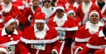 21 декабря в Киеве состоится забег в новогодних шапочках