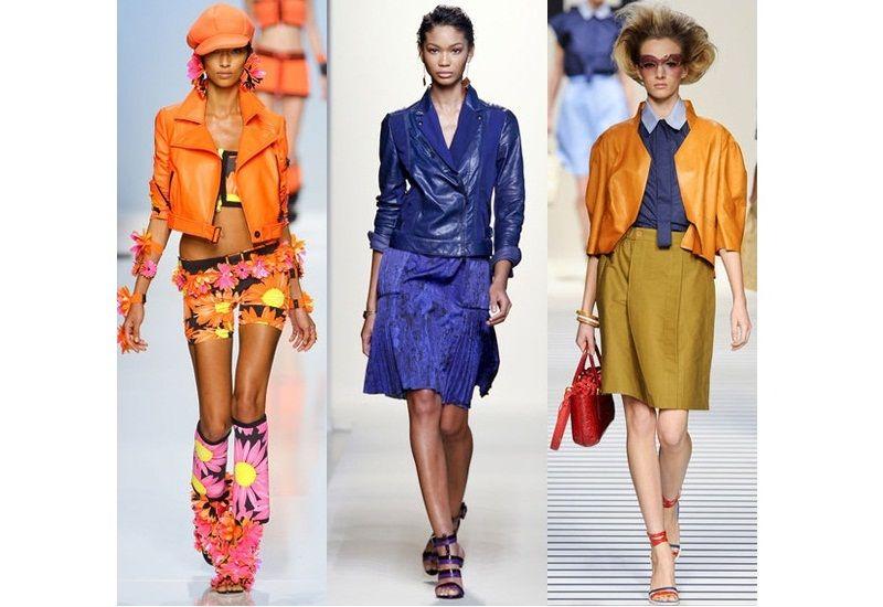 Модні куртки і жакети весна-літо 2012