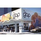 Открытие магазина GAP в Украине