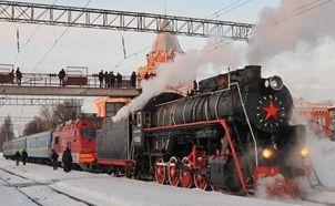 В марте по Киеву курсирует ретроепоезд