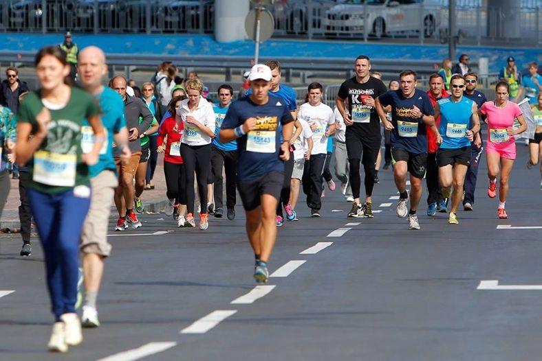 В Киеве прошел марафон Kyiv Half Marathon 2014