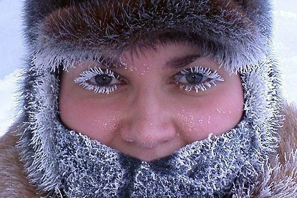 Как не замёрзнуть на улице при морозе -20˚C