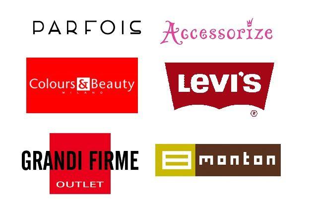 Cкидки в Parfois, Monton, Colours and Beauty, Levi's, Интеротоп, Grandi Firme