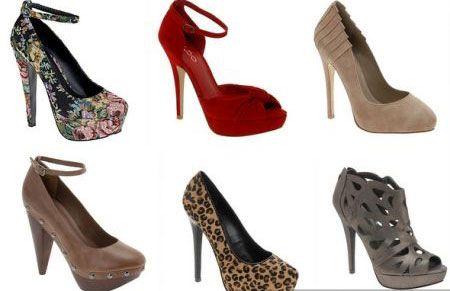Вибираємо туфлі під святкове вбрання до 8 березня