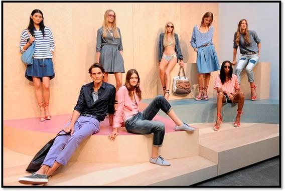 У Нью-Йорку пройшла презентація колекції GAP SS/2012. Огляд