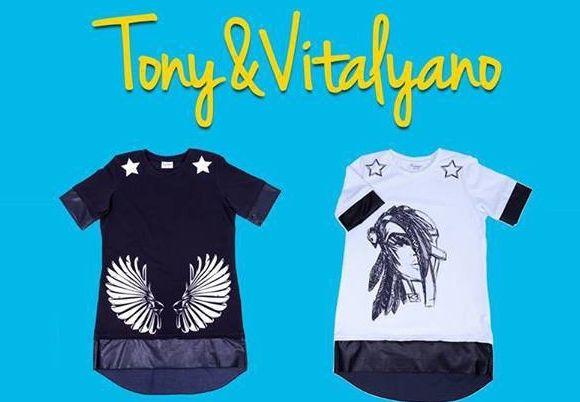 LCA запустили ексклюзивну, лімітовану, дизайнерський одяг під назвою Tony & Vitalyano