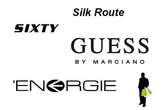 Брендовые шарфы Silk Route, Guess, Energie. Обзор цен