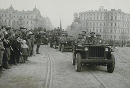 Военные парады в Киеве 1945 года