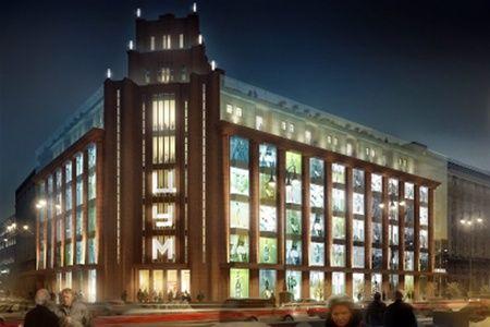 Киевский ЦУМ будет похож на парижскую галерею Лафайет