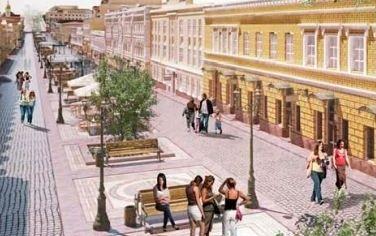 Как будет выглядеть улица Сагайдачного в Киеве?