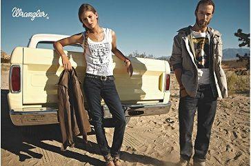 30% скидка в магазине легендарных американских брендов Lee & Wrangler