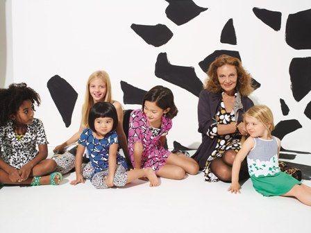 Весняно-літня колекція GapKids і babyGap від Діани фон Фюрстенберг