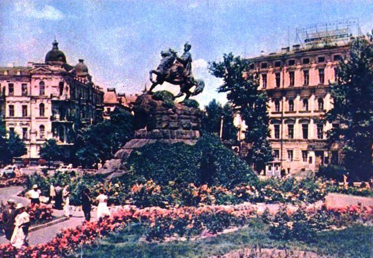 Цветные снимки УCCР в журнале «Огонёк» (1950–61)