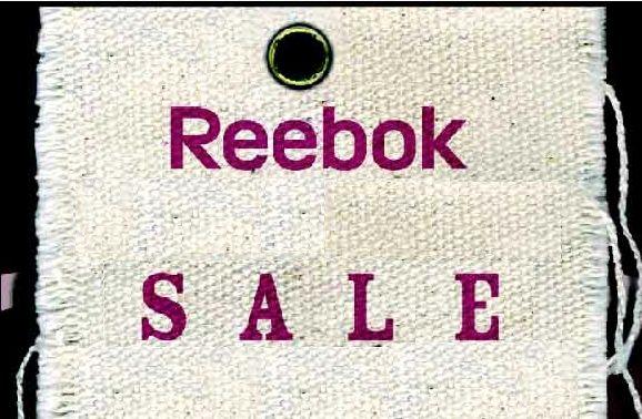 Июнь 2012! Акция на одежду и обувь Reebok