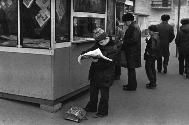 Подол прошлого столетия. Фото из 80-х