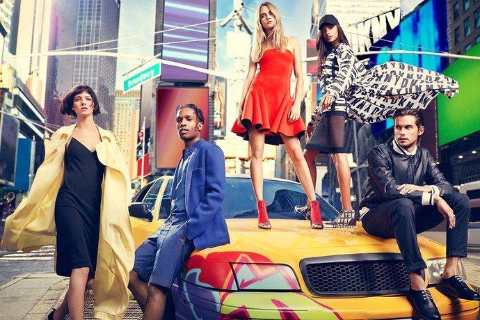 Лукбук DKNY весна-літо 2014