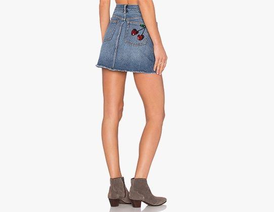 Стильні джинсові спідниці