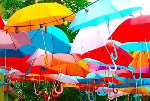 В парке Пушкина пройдет Праздник цветных зонтов