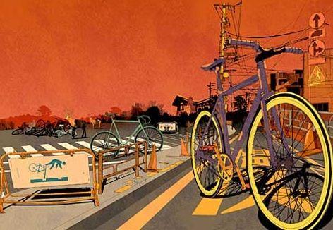 В Киеве может появится велосипедный район