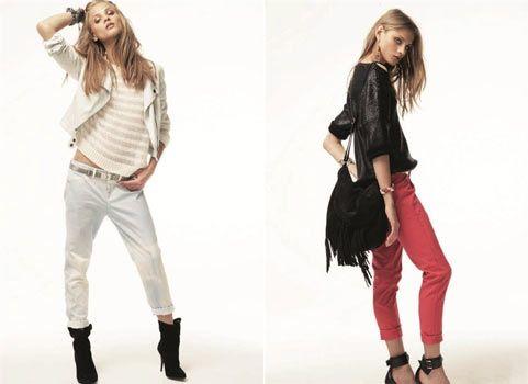 Огляд модних джинсів 2012