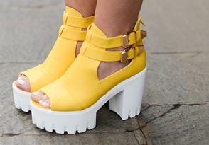 Модная женская обувь в сезоне Весна-Лето 2015